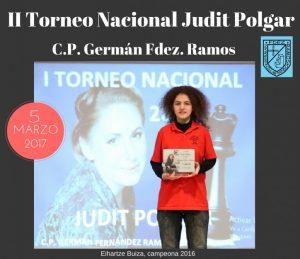Torneo nacional Judit Polgar @ Colegio Público Germán Fernández Ramos (C/ Manuel Fernández Avello).