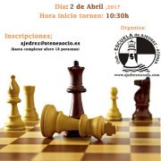 cartel torneo Memorial Mariano Miranda