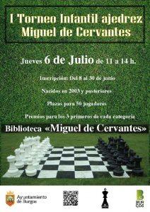 I torneo de ajedrez Miguel de Cervantes @ Biblioteca Miguel de Cervantes