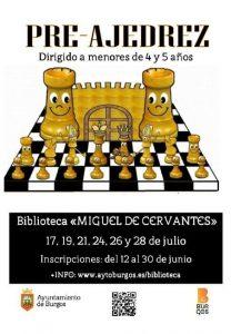 Actividad de preajedrez @ Biblioteca Miguel de Cervantes