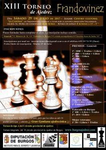 XIII torneo de Frandovinez @ Centro cultural La Casona