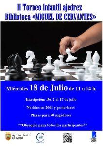 II Torneo infantil Miguel de Cervantes @ Biblioteca Miguel de Cervantes